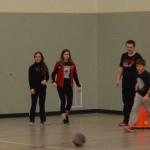 kickball wall jadyn kicking